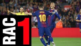 FC Barcelona vs Málaga [2-0][La Liga | Jornada 9][21/10/2017] El Barça juga a RAC1