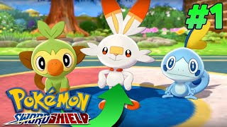 Who Is The Best Starter? - Pokemon Sword And Shield ⚔ 🛡 Lets Play/ Walkthrough Part 1