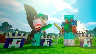 Опасные битвы в Minecraft 115 - СНЕЖНАЯ КОРОЛЕВА и Альфа ЕТИ