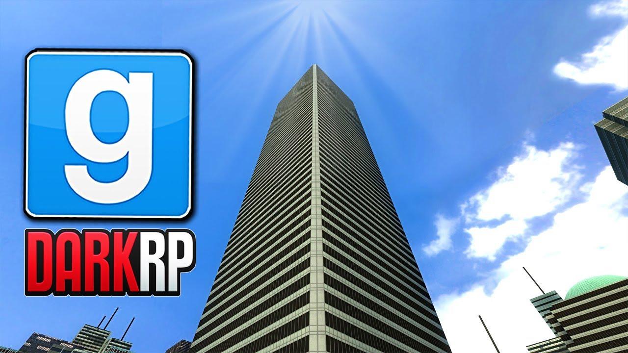 Basing On TALLEST Skyscraper In Gmod! (Garry's Mod RP) - YouTube
