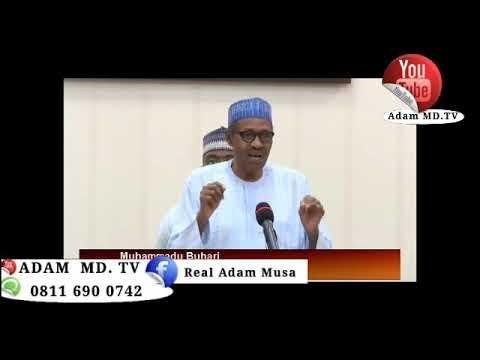 General M Buhari Interview Adam MD