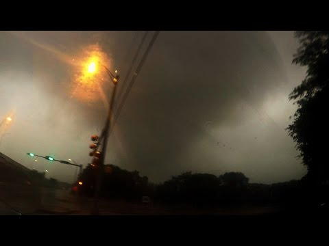 422017 Austin, TX Tornado Warned Storm