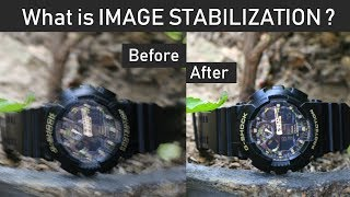 Image Stabilization / Vibration Reduction In Camera Lens | IS, VR, VC, OS