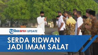 Momen Sersan Dua Paspampres Jadi Imam Salat Idul Fitri Presiden Jokowi & Ibu Negara di Istana Bogor