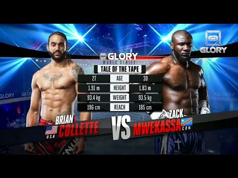 <span>Zack Mwekassa</span> vs Brian Collette Glory 18
