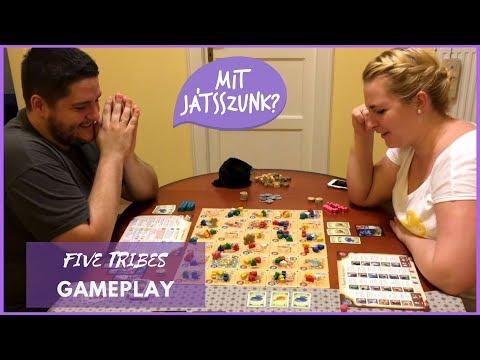 Five Tribes Játékparty (Gameplay) - Mit Játsszunk?