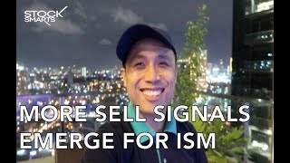 MORE SELL SIGNALS FOR ISM