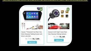 Buy CAR REAR VIEW CAMERA SCREENS Online