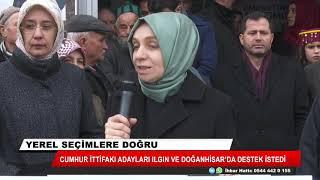 Cumhur İttifakı adayları Ilgın ve Doğanhisar'da destek istedi