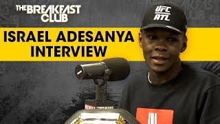 Israel Adesanya Talks UFC Win, Anderson Silva Comments, Robert Whittaker + More