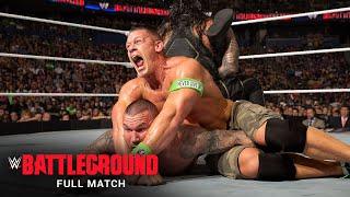 FULL MATCH: Roman Reigns vs. Randy Orton vs. Kane vs. John Cena –Title Match: WWE Battleground 2014