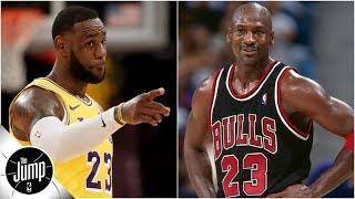 LeBron passing Michael Jordan on scoring list is big for his legacy - Amin Elhassan | The Jump