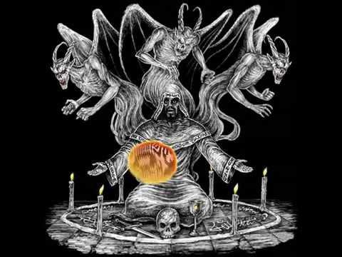 Обращение черного мага к #Сатане с просьбой о заключении договора продаже души #Дьяволу