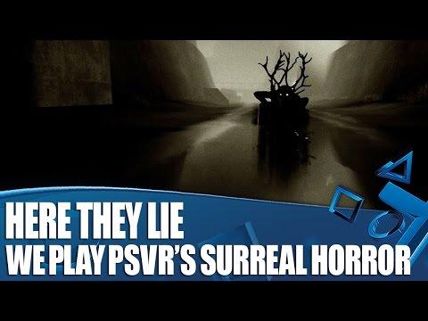 Видео № 1 из игры Here They Lie (Что скрывает тьма) [PS4/PSVR]