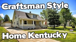 American Craftsman Style House In Historic Perryville Kentucky Homes For Sale