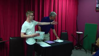 Magician Timothy Carver - Induction into Society of American Magicians (July 5, 2018)
