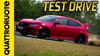 Nuova Honda Civic Type-R: la prova in pista a Vairano | Quattroruote | Kholo.pk