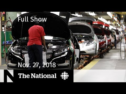 The National for Tuesday, November 27, 2018 — GM Response, Insulin Pumps, Northern Power