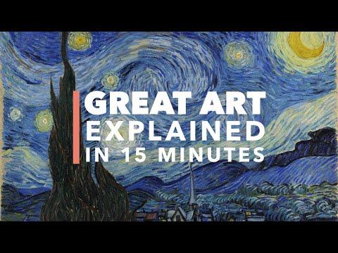 Tajemství velkých pláten: Hvězdná noc Vincenta van Gogha