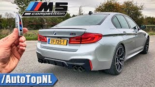 BMW M5 F90 COMPETITION REVIEW POV Test Drive on AUTOBAHN & ROAD by AutoTopNL