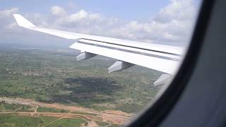 preview picture of video 'Lufthansa A330-300 Landing At Abuja From Frankfurt'