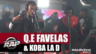 """Q.E Favelas """"Guerilla"""" Ft Koba LaD #PlanèteRap"""