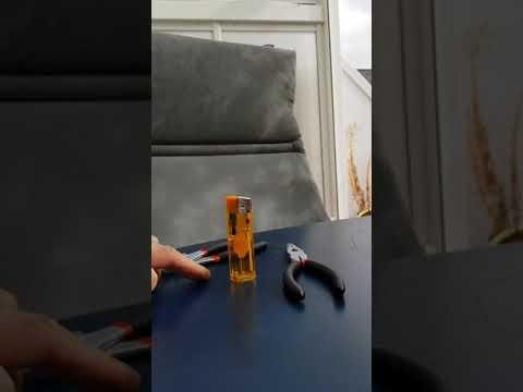 Wir bauen uns ein Tischfeuerzeug