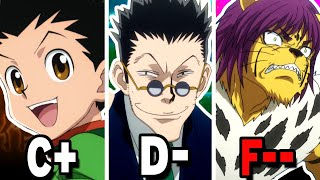 The Top 20 WORST NEN USERS in Hunter X Hunter   New World Review