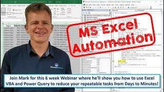 Excel Automation - Session 1 (26 July 2019)