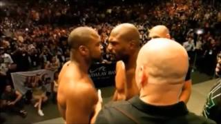WOW you love show ? CRAZY STARDOWN UFC WEIGH-IN. Stay back homie...