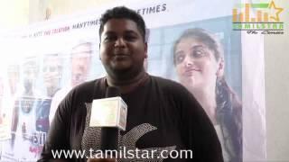 Sangeth at Silence Short Film Launch