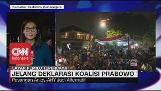Sandi Uno Tinggalkan Kediaman Prabowo, Duet Anies-AHY Jadi Alternatif