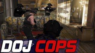 Dept. of Justice Cops #632 - Taxi Swat Raid