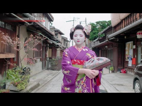 Geiko Girl [Kyoto] - JAPAN FROM ABOVE: UP CLOSE