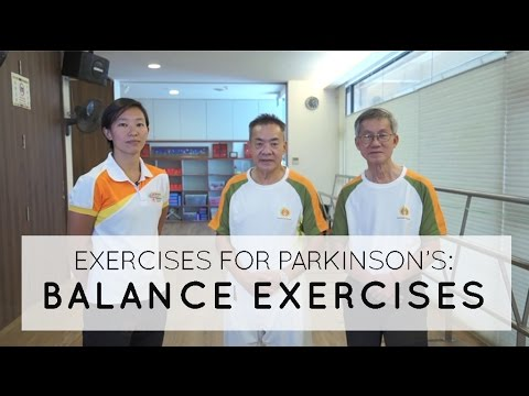 ​Balance Exercises for People with Parkinson's Disease