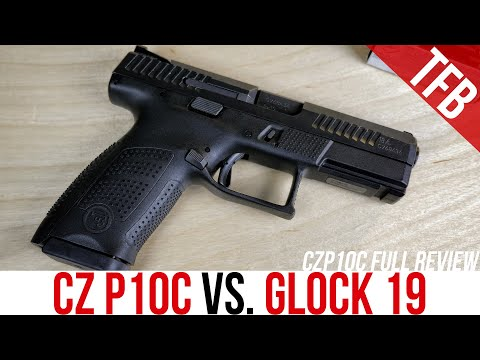 CZ P10C vs. Glock 19 (and Full Review)