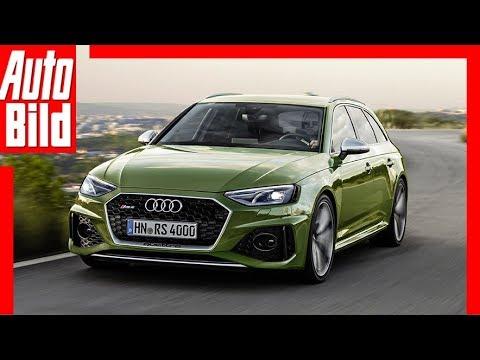 Zukunftsaussicht: Audi RS 4 Avant (2020) Infos - Motor - Kombi