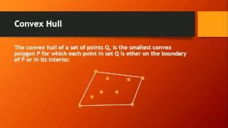 Convex Hull Tutorial