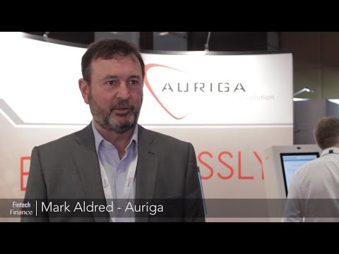 Mark Aldred from Auriga at Self Service Banking Europe 2017