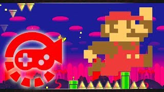 360° Video - Super Mario Dash, Stereo Madness