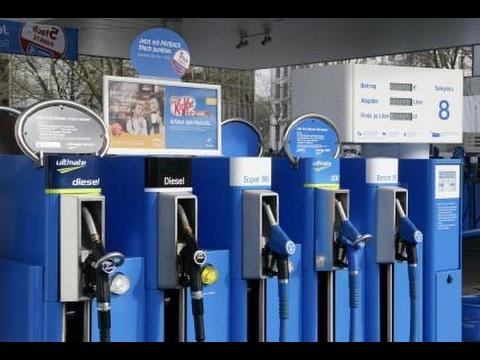 Die Übersichten der Qualität des Benzins