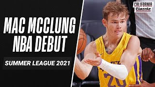 Mac McClung FLASHES ATHLETICISM in Lakers NBA Debut 🔥