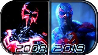 EVOLUTION Of SPIDER MAN 2099 In Movies Cartoons TV (2008 2019) Spider Man 2099 Into The Spider Verse