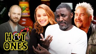 The Best of Sean Evans Answering Questions from Celebrities | Hot Ones