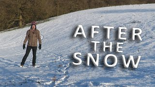 AFTER the SNOW - Winter in England - Listen and learn English in February 2021 - with Mr Duncan