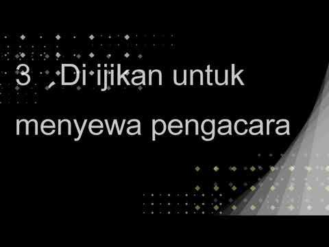 被告進入法庭後訊問流程及相關權利-印尼語版