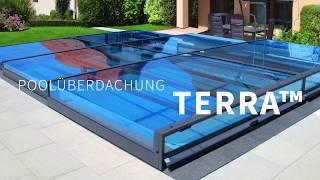 Poolüberdachung Terra