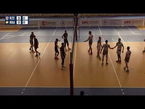 2 liga siatkówki: AKS V LO Rzeszów - SMS Sparta AGH Kraków [TRANSMISJA NA ŻYWO]