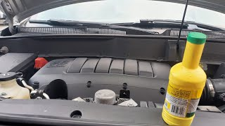 How to: Add Power Steering Fluid to a 2011 Chevrolet Traverse Lt
