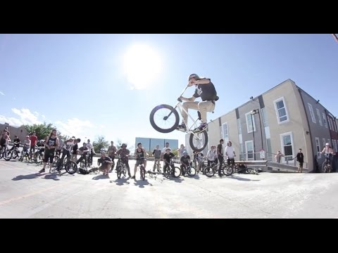 HUGE BMX STREET JAM IN DENVER